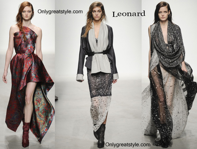 Leonard fashion clothing fall winter