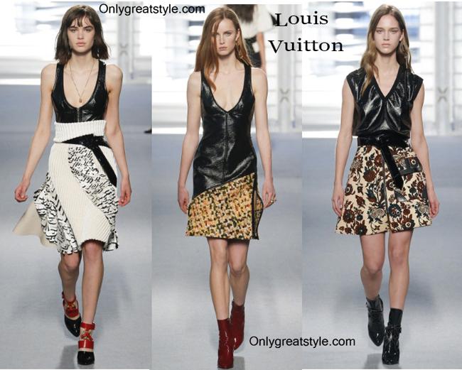 Louis Vuitton fashion clothing fall winter