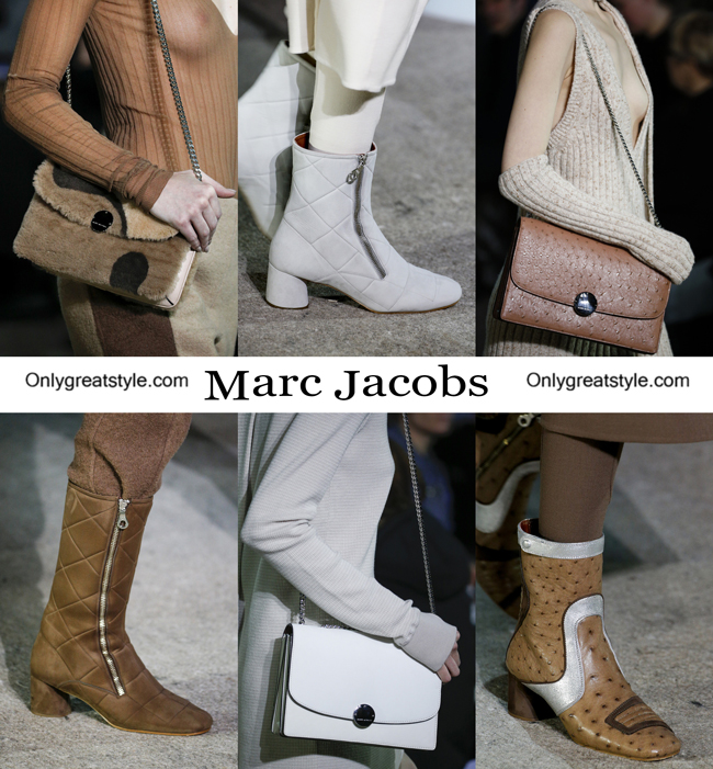 Marc Jacobs handbags and Marc Jacobs shoes