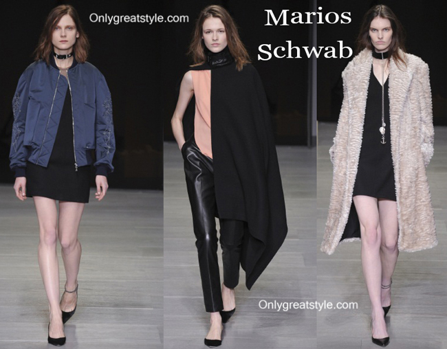 Marios Schwab clothing accessories fall winter