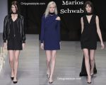 Marios-Schwab-décolleté-and-Marios-Schwab-shoes