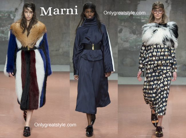 Marni clothing accessories fall winter