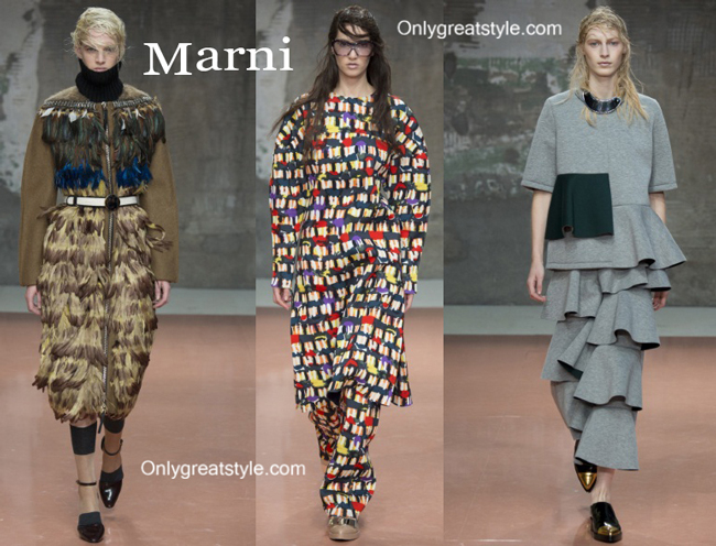 Marni fashion clothing fall winter