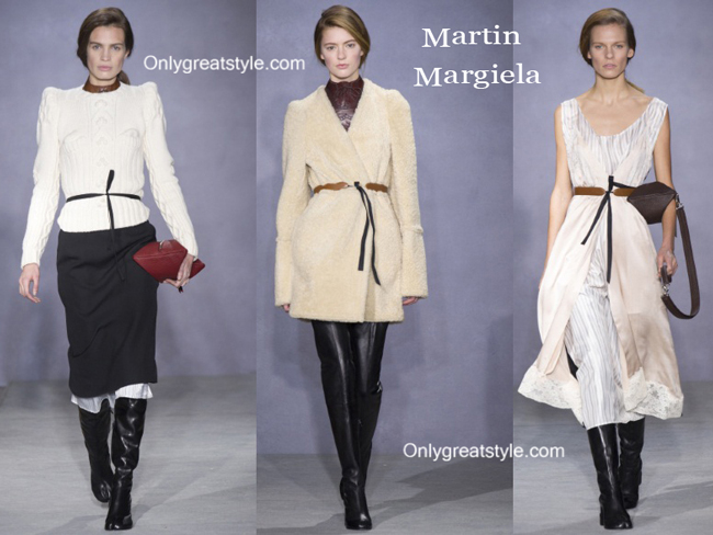Martin Margiela clothing accessories fall winter