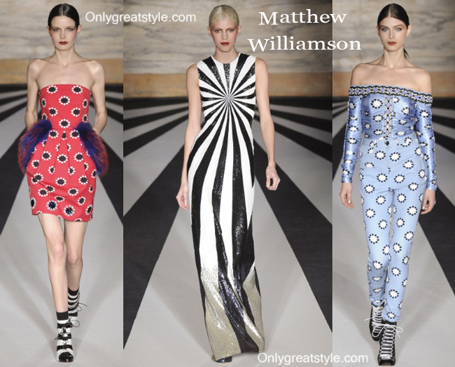 Matthew Williamson fashion clothing fall winter