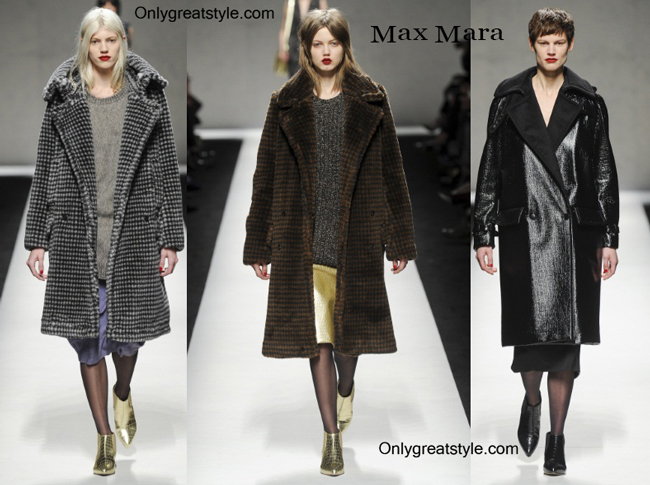 Max Mara clothing accessories fall winter
