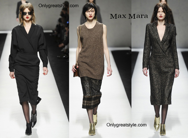 Max Mara fashion clothing fall winter