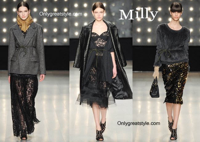 Milly clothing accessories fall winter