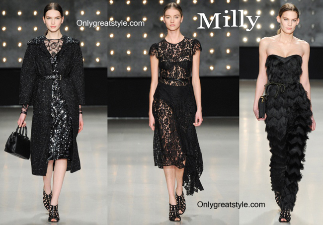 Milly fashion clothing fall winter