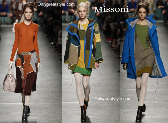 Missoni clothing accessories fall winter