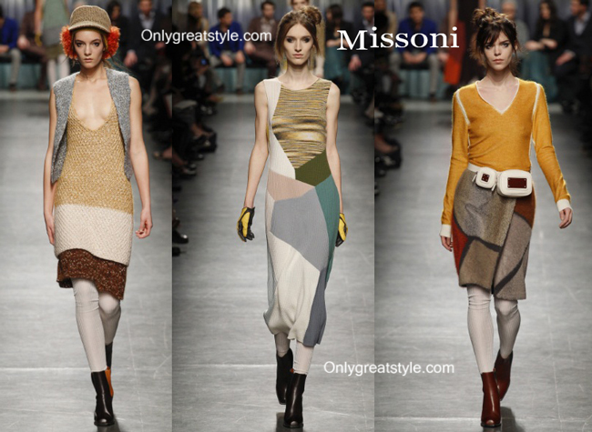 Missoni fashion clothing fall winter