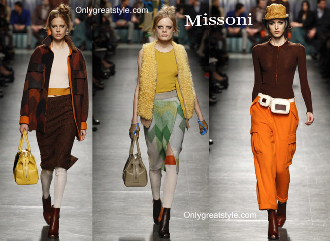Missoni handbags and Missoni shoes