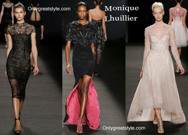 Monique Lhuillier fashion clothing fall winter