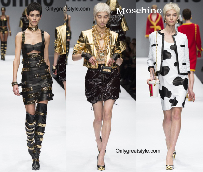 Moschino fashion clothing fall winter