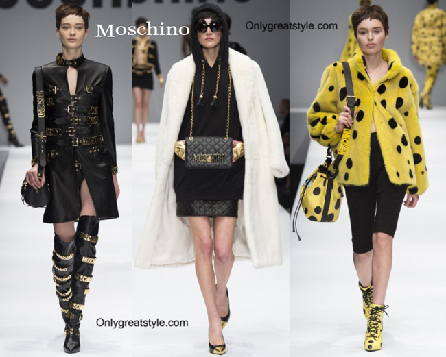 Moschino handbags and Moschino shoes