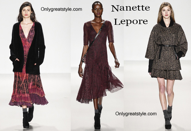 Nanette Lepore clothing accessories fall winter