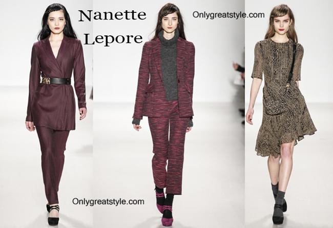 Nanette Lepore fashion clothing fall winter