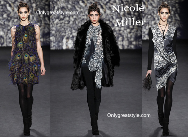 Nicole Miller clothing accessories fall winter