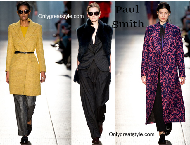 Paul Smith clothing accessories fall winter