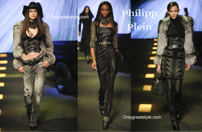 Philipp Plein clothing accessories fall winter