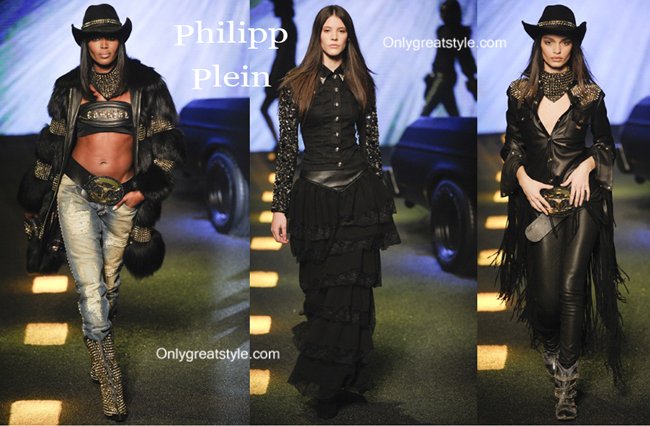 Philipp Plein fashion clothing fall winter