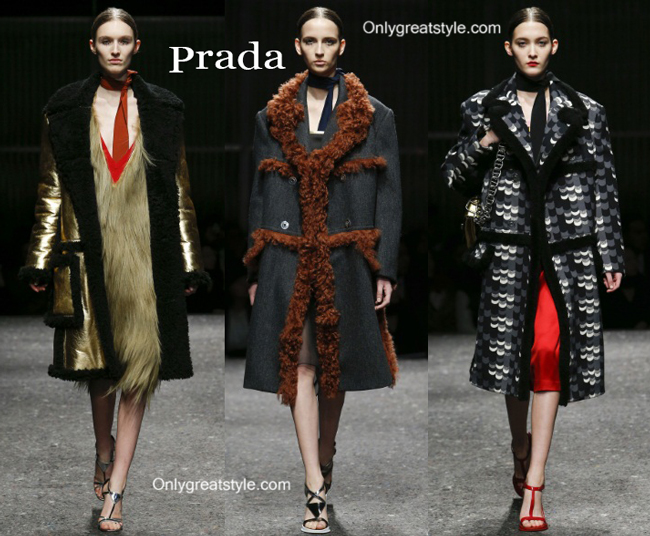 Prada clothing accessories fall winter