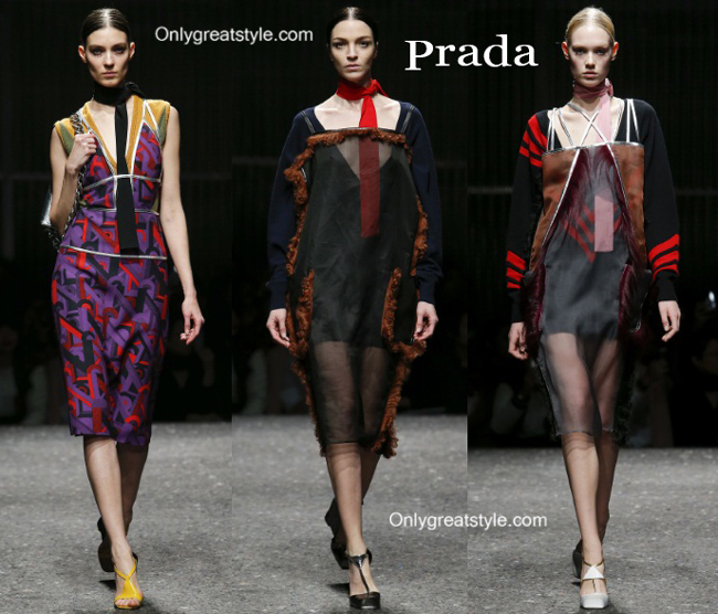Prada fashion clothing fall winter
