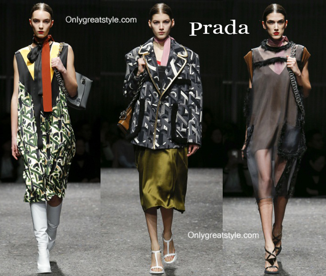 Prada handbags and Prada shoes