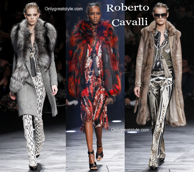 Roberto Cavalli clothing accessories fall winter