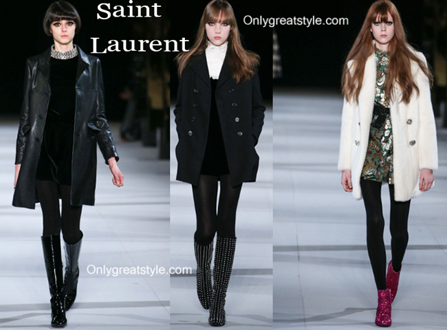 Saint Laurent clothing accessories fall winter