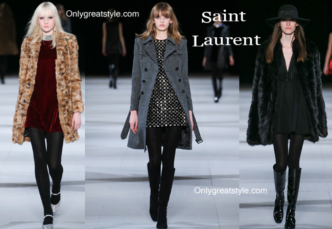 Saint Laurent fashion clothing fall winter