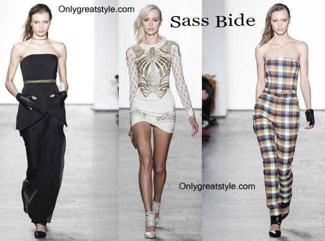 Sass Bide fashion clothing fall winter