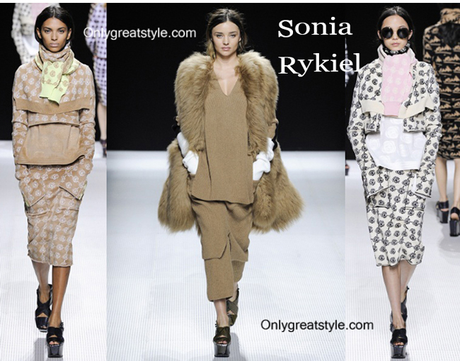 Sonia Rykiel clothing accessories fall winter