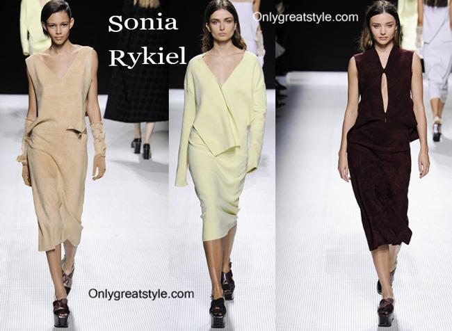Sonia Rykiel fashion clothing fall winter