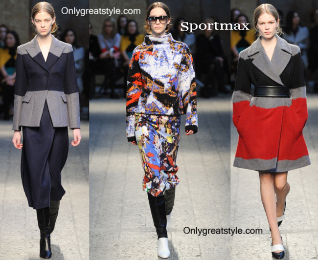 Sportmax clothing accessories fall winter