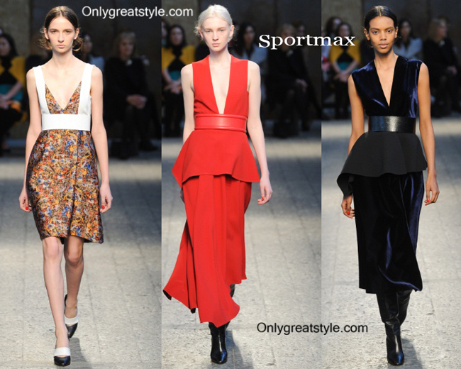 Sportmax fashion clothing fall winter