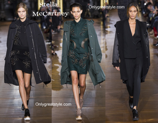 Stella McCartney clothing accessories fall winter