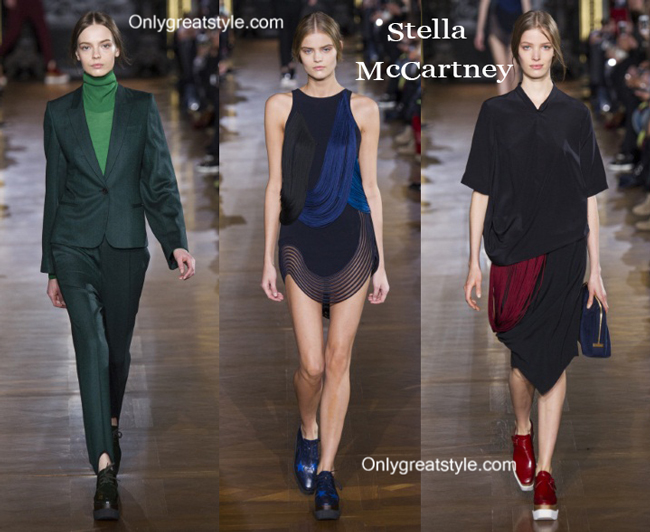 Stella McCartney fashion clothing fall winter