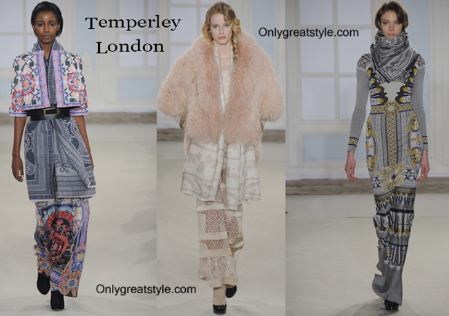 Temperley London clothing accessories fall winter
