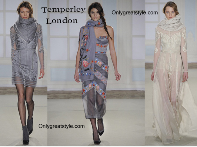 Temperley London fashion clothing fall winter