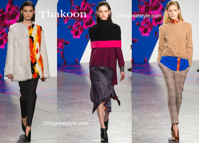 Thakoon clothing accessories fall winter