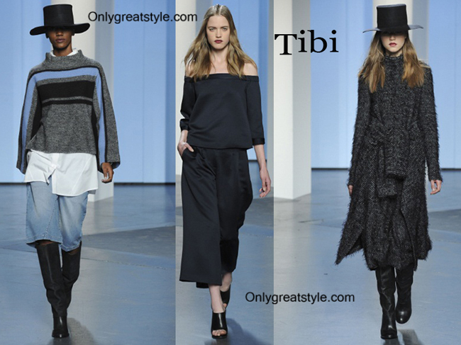 Tibi fashion clothing fall winter