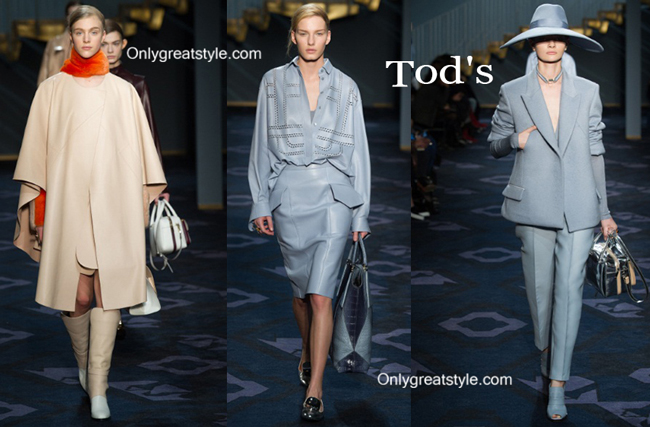 Tod's fashion clothing fall winter