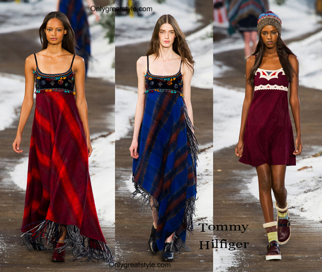 Tommy Hilfiger fashion clothing fall winter