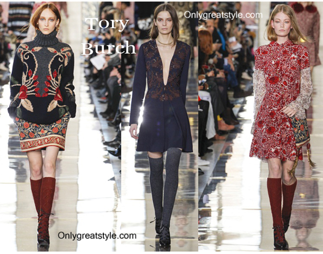 Tory Burch fashion clothing fall winter