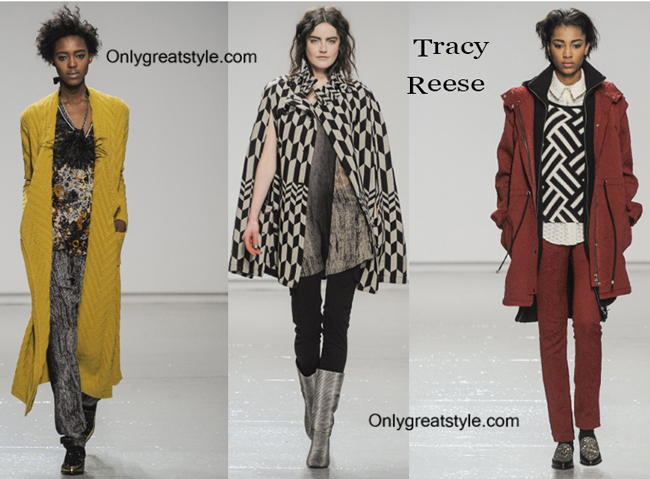 Tracy Reese clothing accessories fall winter
