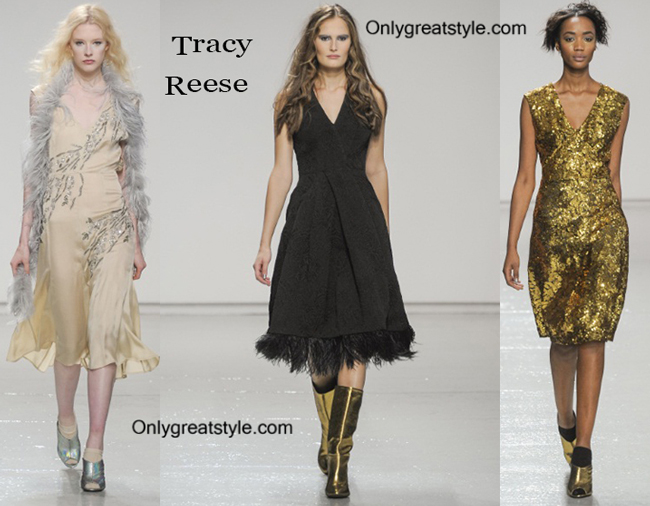 Tracy Reese fashion clothing fall winter