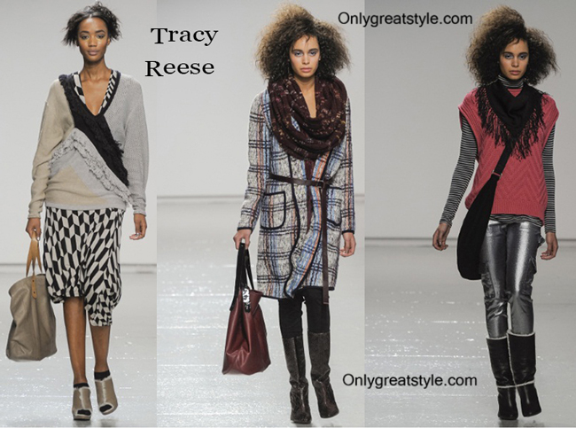 Tracy Reese handbags and Tracy Reese shoes