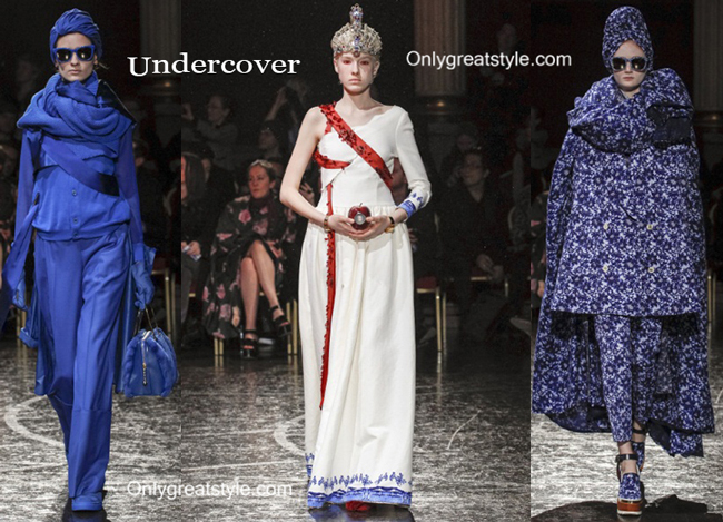 Undercover clothing accessories fall winter