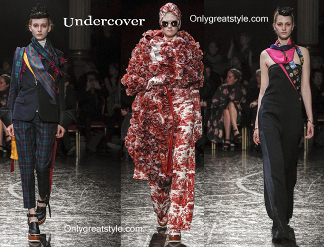 Undercover fashion clothing fall winter